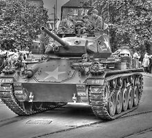 M24 Chaffee (Rebels Revenge) by larry flewers