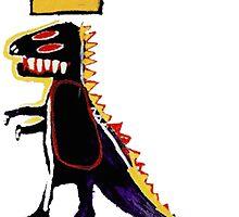 Basquiat Dinosaur by Leleis