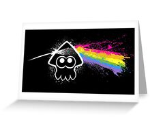 DARK SIDE OF THE SQUID Greeting Card