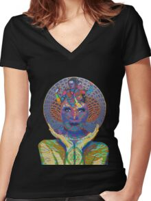 realization - 2011 as tshirt Women's Fitted V-Neck T-Shirt