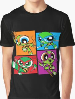 Power POP Turtles Graphic T-Shirt