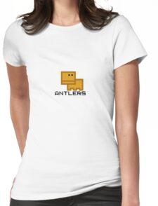 Li'l Critters: Antlers Womens Fitted T-Shirt