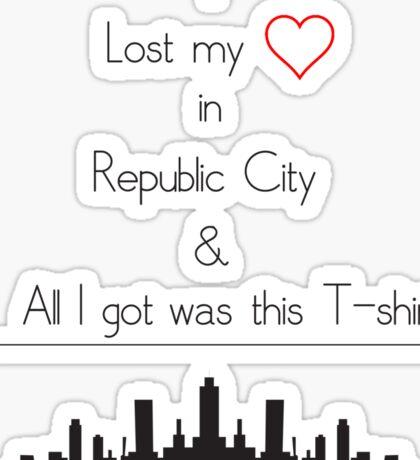 I Lost my Heart in Republic City Sticker