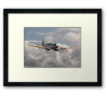 Spitfire - 145 Sqdn RAF Framed Print