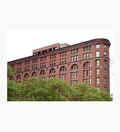 The Old Brick Building Downtown Denver Photographic Print
