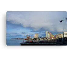 Norway - Commercial Harbour Canvas Print