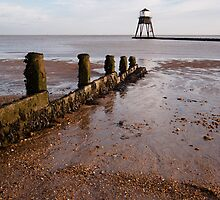 Dovercourt Beach & Lighthouse by Christopher Cullen