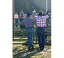 Cowboys Photographic Print