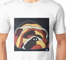 Abstract sleeping dog design Unisex T-Shirt