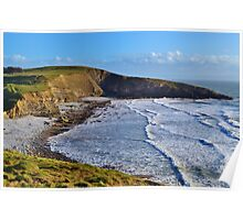 Dunraven Bay, The All Wales Coast  Path Poster