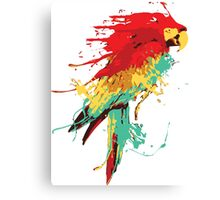 Splash The Parrot Canvas Print