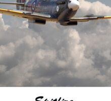 Spitfire - 145 Sqdn RAF Sticker