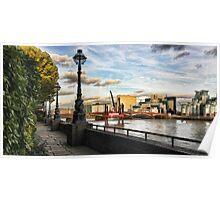The Embankment, London Poster