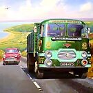 Rowe Hillmaster on Porlock. by Mike Jeffries