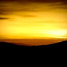 Sunset on Caldbeck Common by Lou Wilson