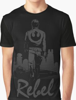 Rebel (Blackout Edition) Graphic T-Shirt