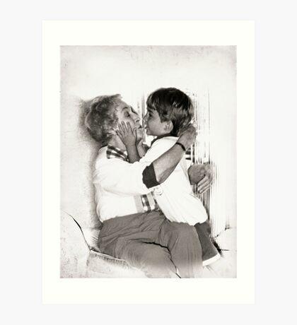 Ageless Love Art Print