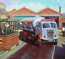 Arrow Bulk Carriers AEC tanker. by Mike Jeffries