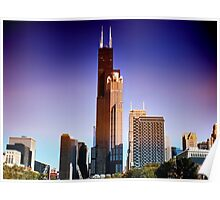 View of Willis Tower Poster