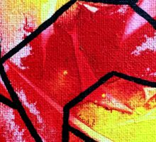 Abstract stained glass 2 Sticker