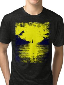 Golden sunset Tri-blend T-Shirt