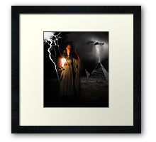 ~ And then there was light ~ Framed Print