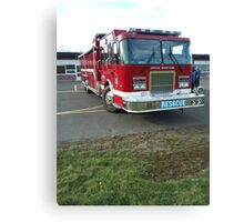 Enfield Fire Dept Special Operations Canvas Print