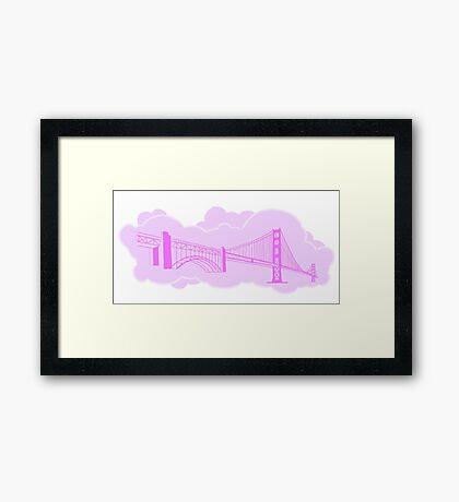 San Francisco Golden Gate Bridge  Framed Print