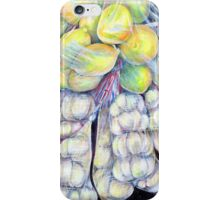 The Wonders of the Wet Markets, Singapore iPhone Case/Skin