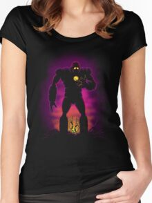 The Iron Sentinel Women's Fitted Scoop T-Shirt