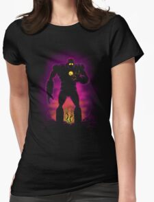 The Iron Sentinel Womens Fitted T-Shirt