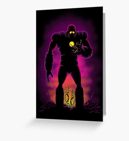The Iron Sentinel Greeting Card