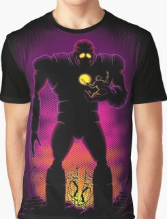 The Iron Sentinel Graphic T-Shirt