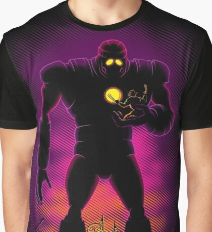 The Iron Sentinel Graphic T-Shirt