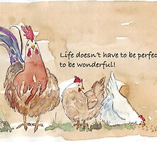Life doesn't have to be perfect by Maree Clarkson