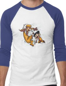 Logan and Victor Men's Baseball ¾ T-Shirt
