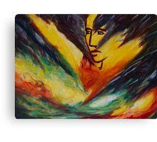 To overcome (Vaincre) Canvas Print