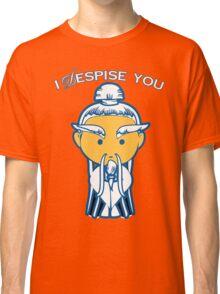 Kill Bill - Pai Mei - I Despise You (Gordon Liu) Classic T-Shirt