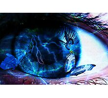 Eye of the storm Photographic Print