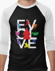 Evolve (MMA) Men's Baseball ¾ T-Shirt