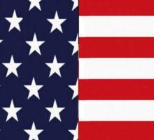 STARS AND STRIPES AMERICAN FLAG Sticker