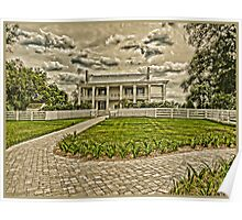 Old Plantation Home TN Poster