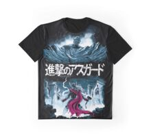 Attack on Asgard Graphic T-Shirt