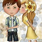 First Kisses Iphone Case by Kristy Spring-Brown