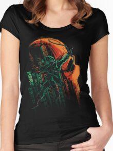 Green Vigilance Women's Fitted Scoop T-Shirt