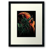 Green Vigilance Framed Print