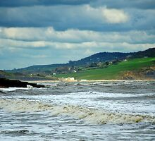 Stormy Clouds Over Charmouth by Susie Peek