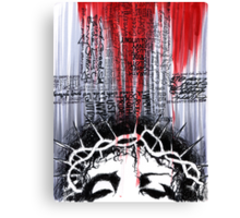The Passion of the Christ-The Deadly Cost of Forgiveness Canvas Print