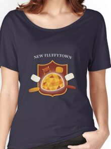 New Fluffytown   Community Women's Relaxed Fit T-Shirt
