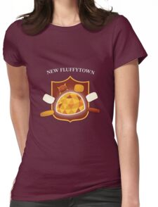 New Fluffytown | Community Womens Fitted T-Shirt